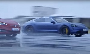 Race of the Underdogs: Porsche Taycan Turbo Vs. Tesla Model S P90D