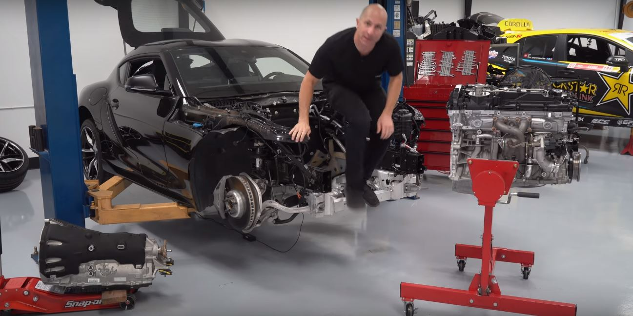 Build A Toyota >> Racer Tears Down 2020 Toyota Supra Engine Goes For 1 000 Hp