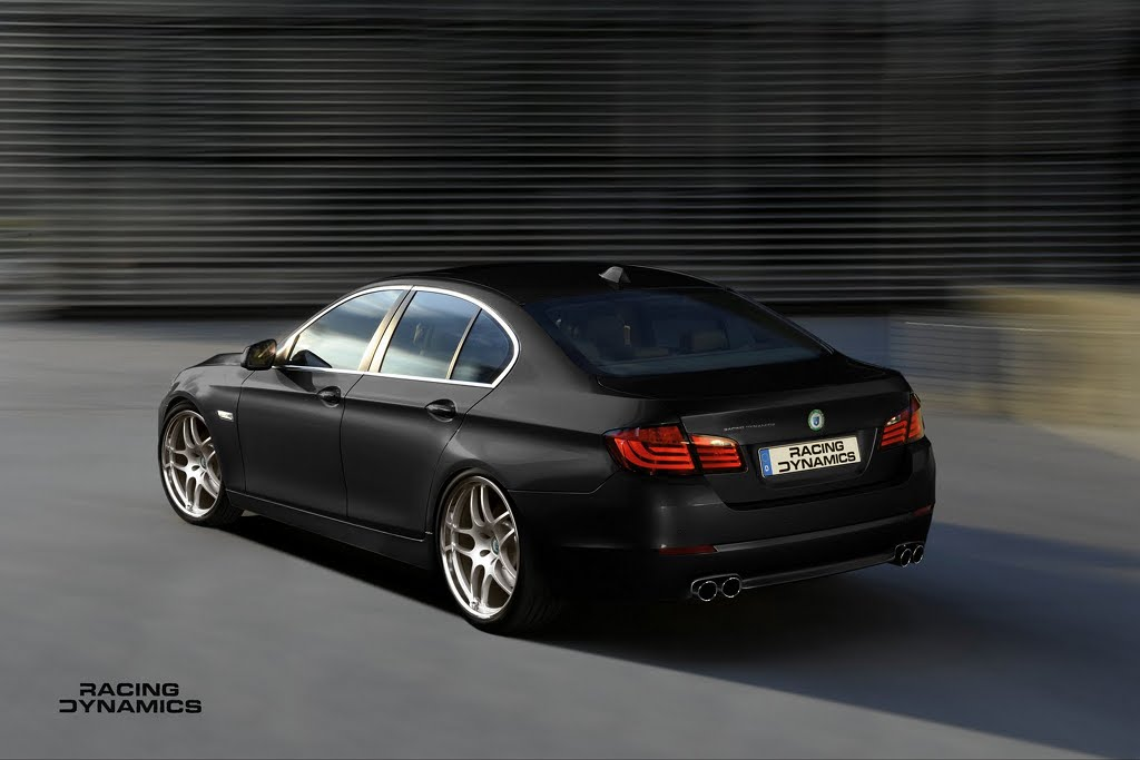 Racing Dynamics Working On The 2011 F10 Bmw 5 Series Tuning Program