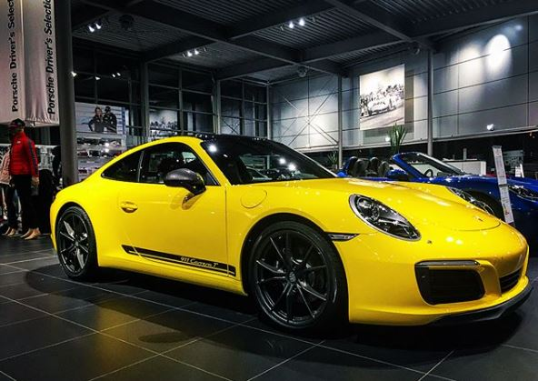 Racing Yellow 2018 Porsche 911 Carrera T Looks Majestic in Porsche on black porsche 911, old porsche 911, first porsche 911, hot wheels porsche 911, green porsche 911, orange porsche 911, gold porsche 911, future porsche 911, purple porsche 911, red porsche 911,