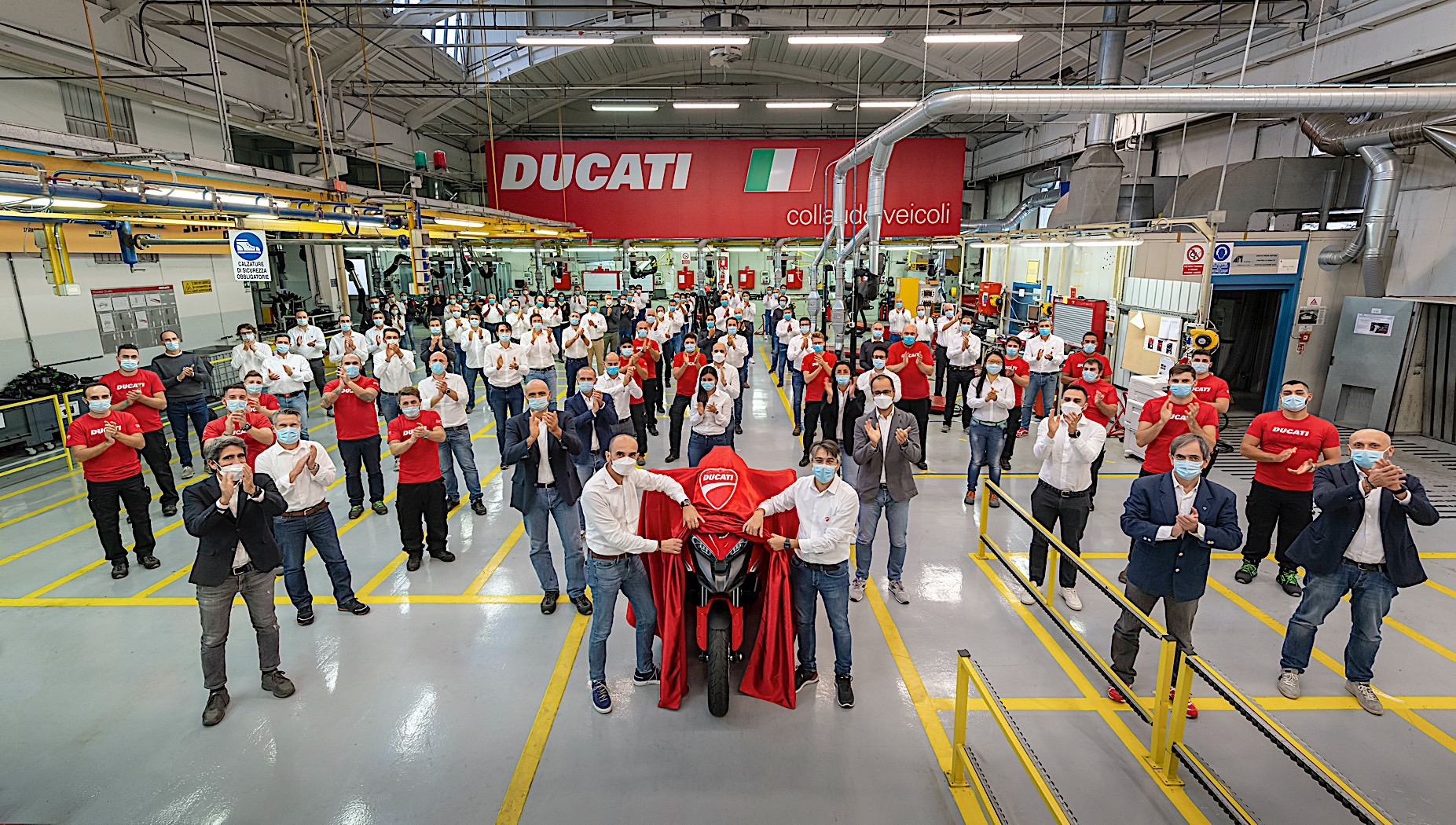 Ducati Multistrada V4 with radar tech enters production, unveiling on November 4