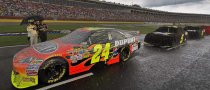 Rain Pushes NASCAR Races to Monday