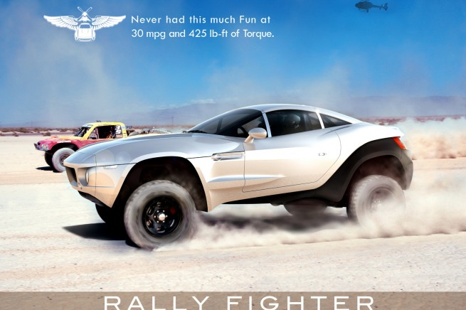 Rally Fighter with BMW Engine at SEMA  autoevolution