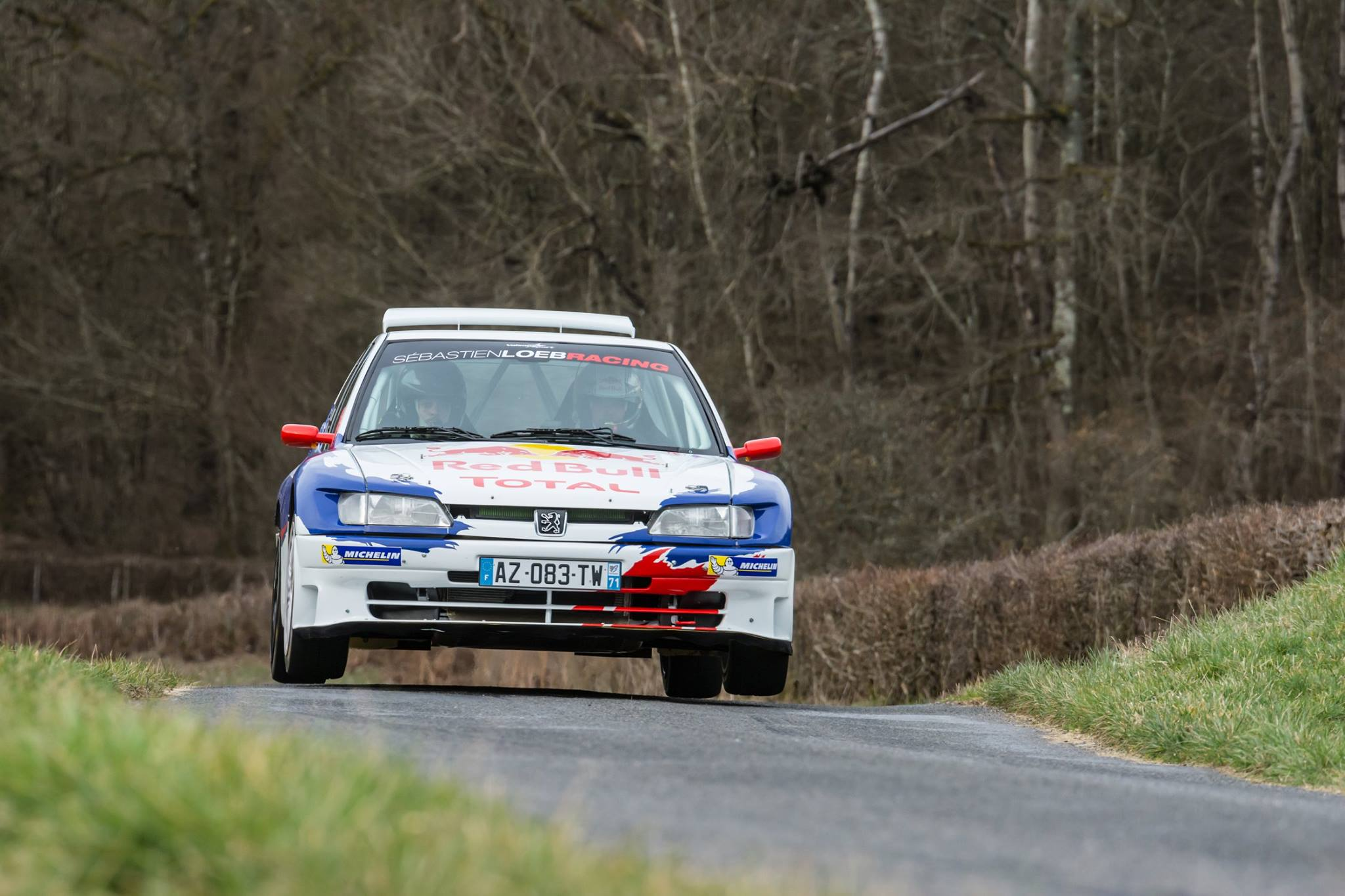 Rally Legend Loeb Drives 18-year-old Car To Victory, Finishes With ...