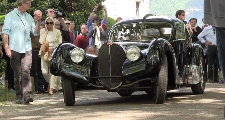 Ralph Lauren's 1938 Bugatti Atlantic Wins at Concorso d'Eleganza Villa d'Este [Video]