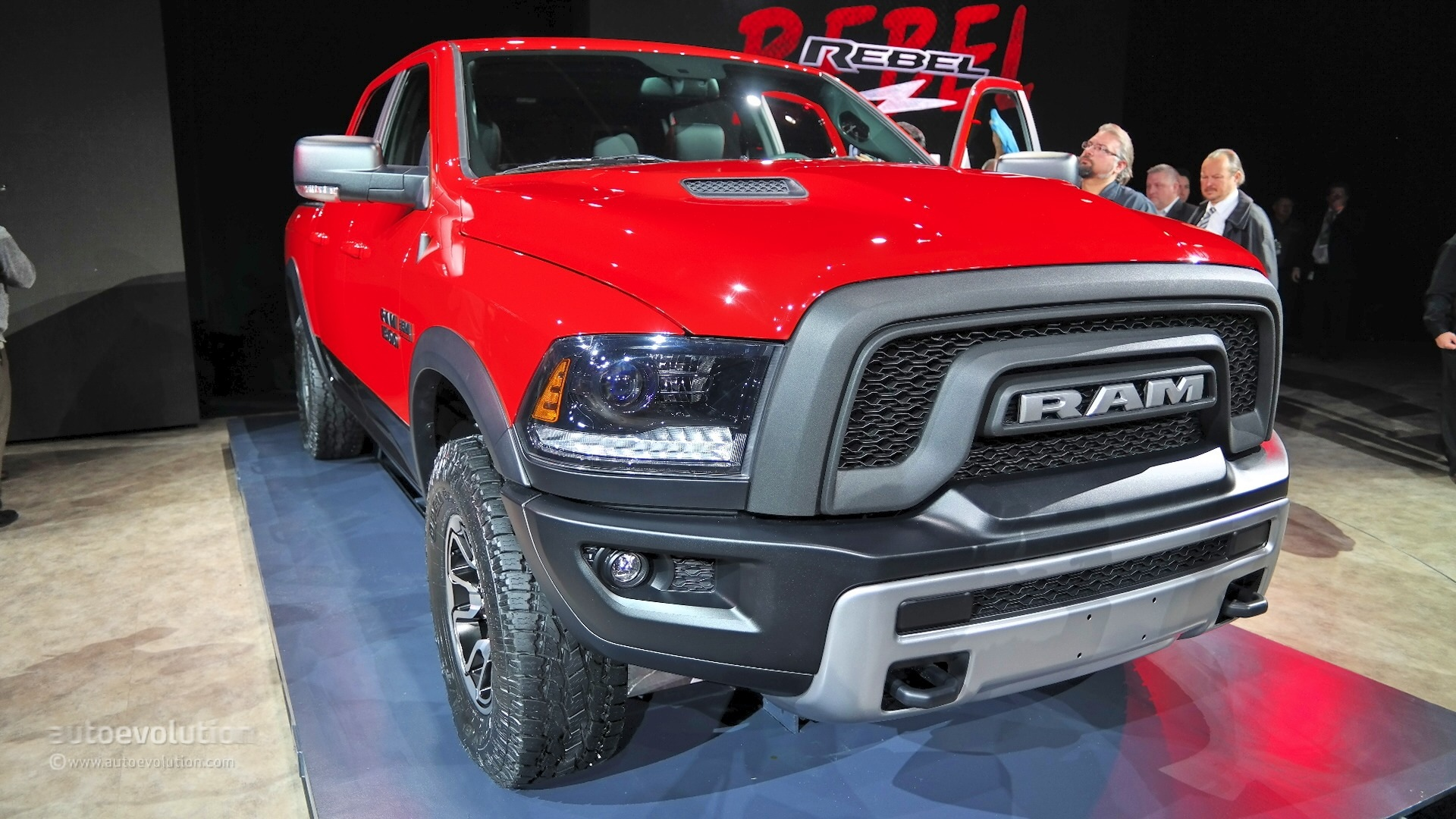 Ford Spider Truck >> Ram 1500 Rebel Shows Its Butch Face at NAIAS, It Feels Lavish Inside [Live Photos] - autoevolution