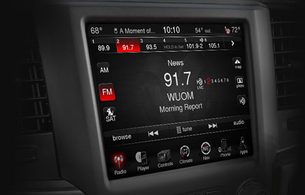 Ram 1500 to Gain Microsoft-Based Uconnect Infotainment