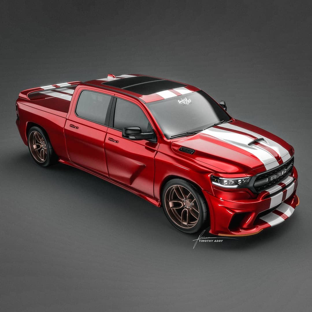 Ram Srt 10 Acr Brings Back The Viper With A Bed Autoevolution