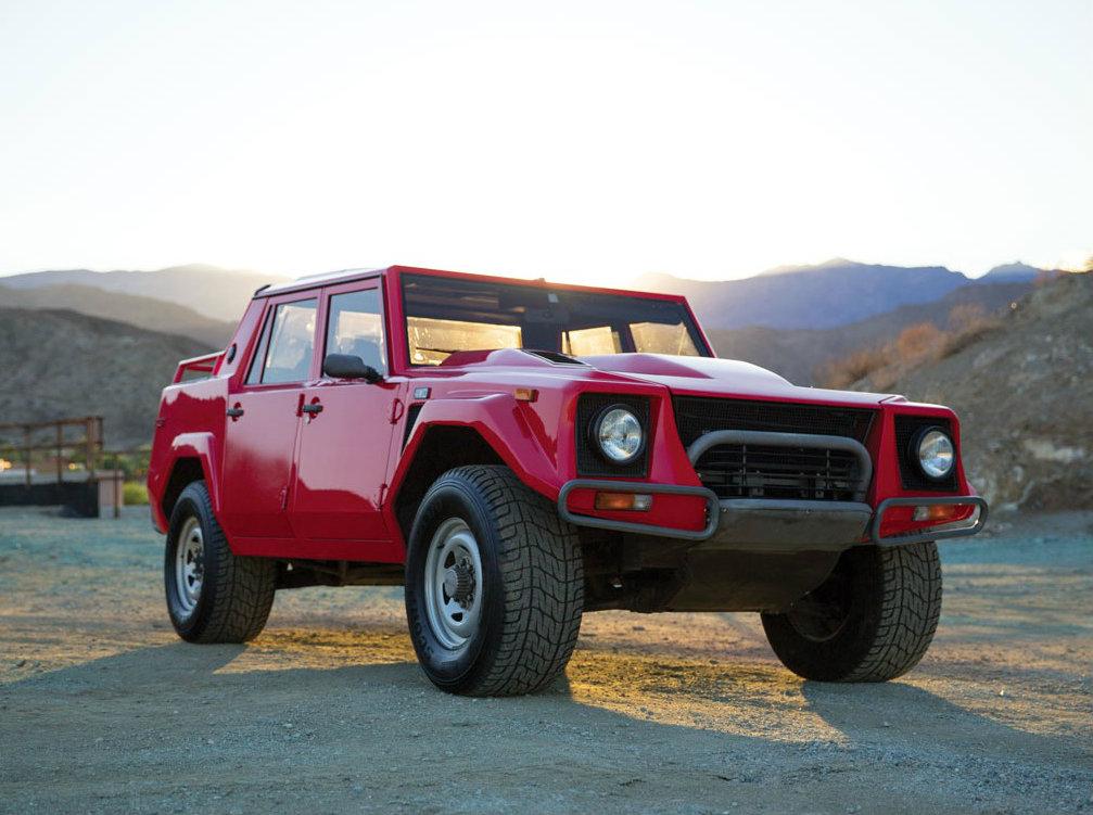 Rambo Lambo Suv With Countach V12 Engine Heading To Auction