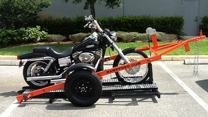 Ramp Free Motorcycle Trailers Are As Cool As It Gets