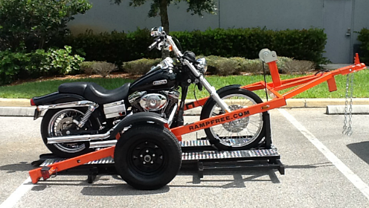 Car And Motorcycle Trailer Rental