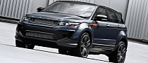 Range Rove Evoque Becomes Kahn Dark Tungsten RS250 [Photo Gallery]