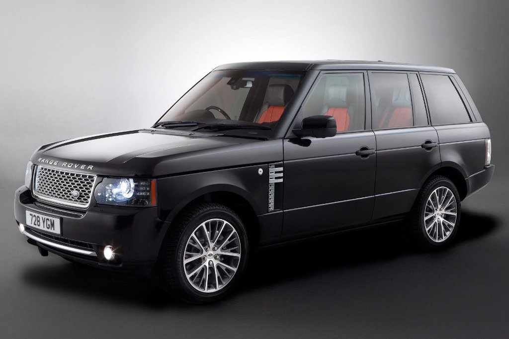 range rover autobiography black limited edition launched. Black Bedroom Furniture Sets. Home Design Ideas