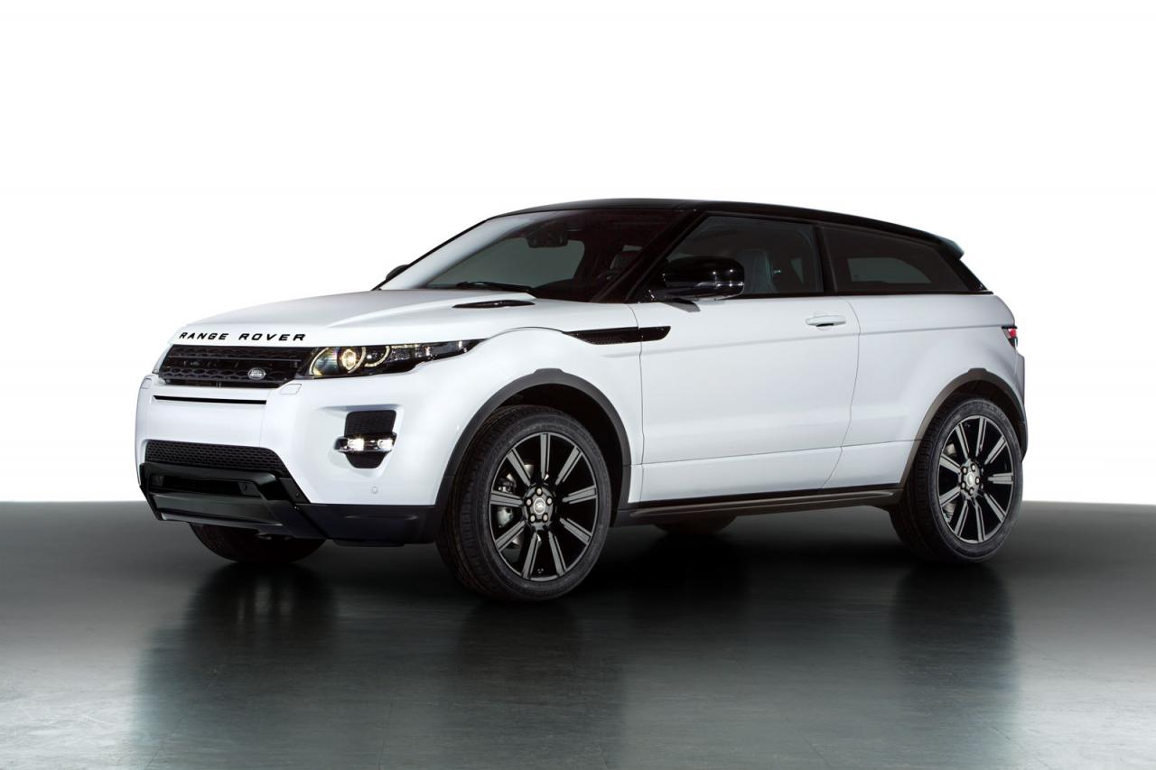range rover evoque black pack launched autoevolution. Black Bedroom Furniture Sets. Home Design Ideas
