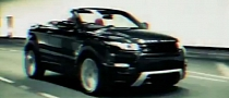 Range Rover Evoque Convertible in Motion [Video]