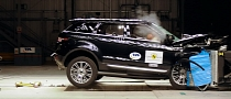 Range Rover Evoque Gets Five-Star Euro NCAP Rating [Video]