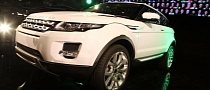 Range Rover Evoque Enters Production