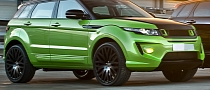 Range Rover Evoque in Lamborghini Green Pearl by Kahn [Photo Gallery]