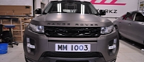 Range Rover Evoque Matte Charcoal Gray Wrap [Video] [Photo Gallery]