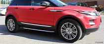 Range Rover Evoque Red Carbon by Re-Styling