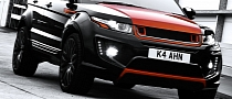 Range Rover Evoque RS250 Vesuvius Edition by  Kahn [Photo Gallery]