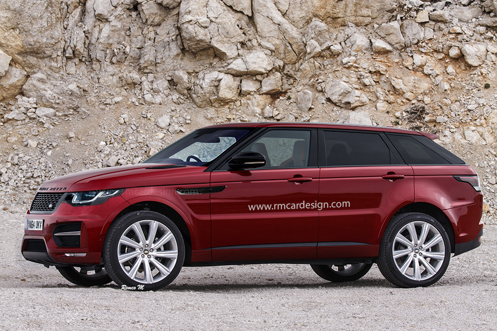 2018 land rover range rover sport. unique range range rover sport coupe rendered spied in the wild intended 2018 land rover range sport r