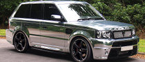 Range Rover Sport Gets Chromed by Revere London