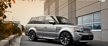 Range Rover Sport on Vossen CV1 22-Inch Wheels [Photo Gallery]