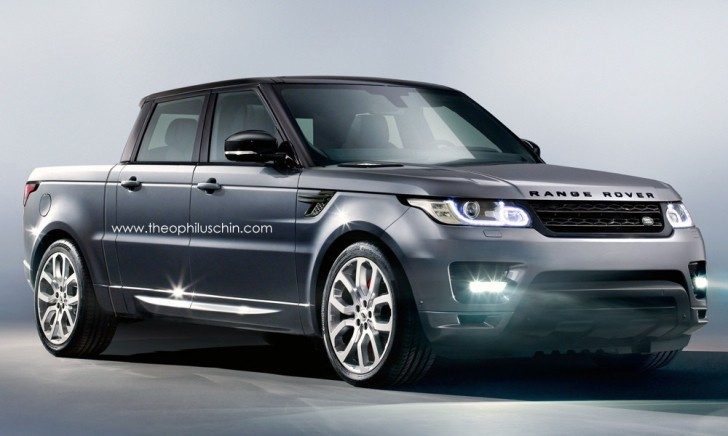 Range Rover Sport Pickup Truck Rendered Autoevolution