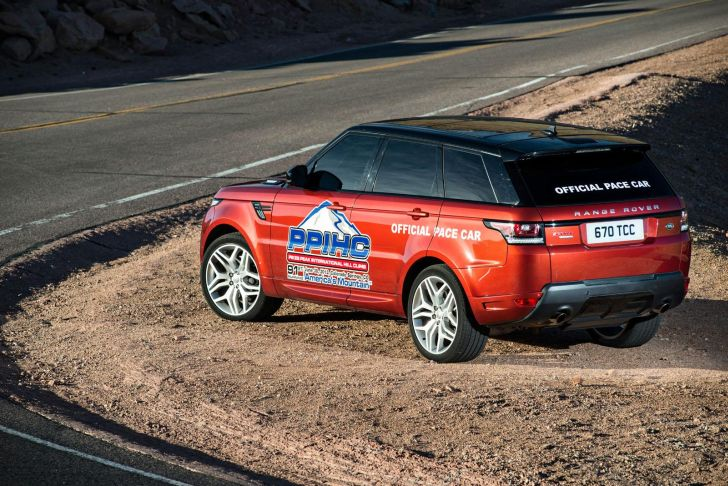 Range Rover Sport Pike Peak Pace Car Unveiled [Video]