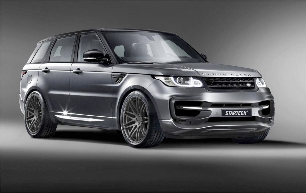 range rover sport startech kit previewed ahead of essen. Black Bedroom Furniture Sets. Home Design Ideas