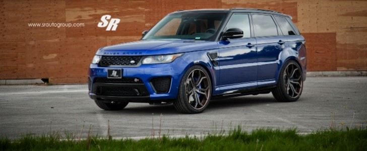 Range Rover Sport Svr On Pur Wheels British Swag