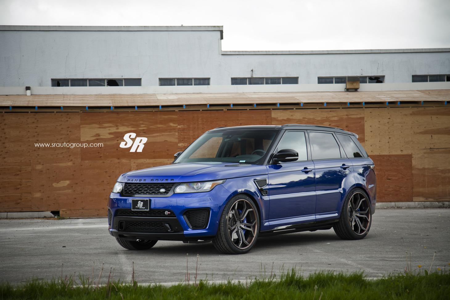 range rover sport svr on pur wheels british swag autoevolution. Black Bedroom Furniture Sets. Home Design Ideas