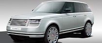 Range Rover SUV Redesigned by British Coachbuilder Alcraft