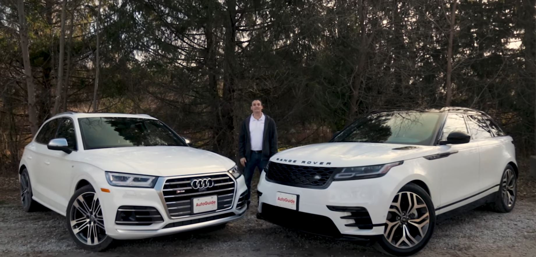Range Rover Velar Takes On Audi Sq5 In Luxury Suv Shootout