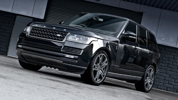Range Rover Vogue Gets Visual Boost with Kahn's Black Label Edition [Photo Gallery]