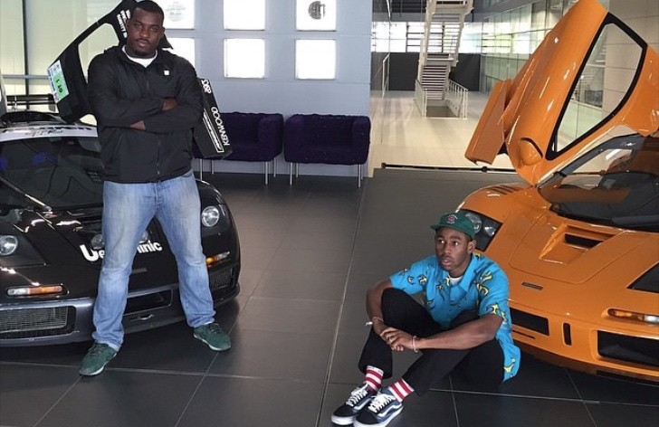 Rapper And Producer Tyler The Creator Visits Mclaren Hq Autoevolution