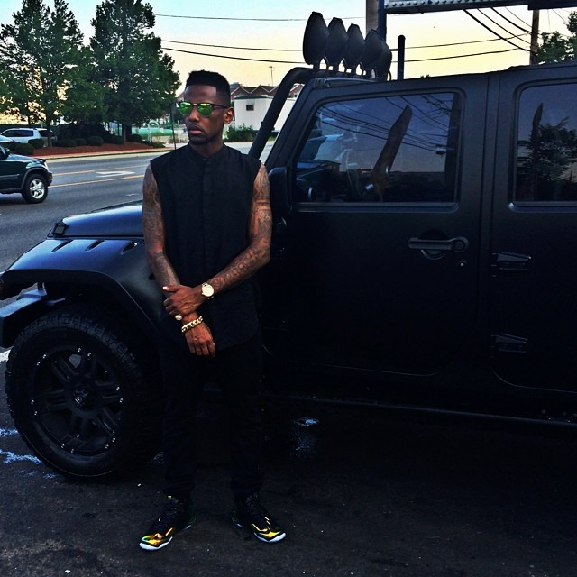 Rapper Fabolous Drives A Jeep Bored Of The Crashed
