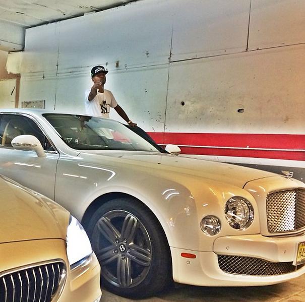 Rapper Juelz Santana Is A Bentley Mulsanne Guy