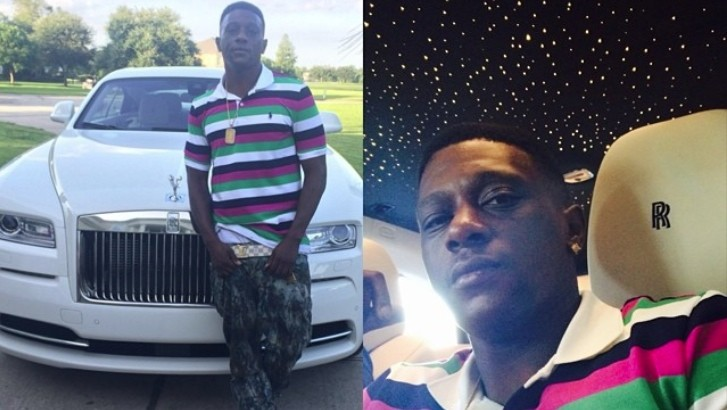 Boosie Badazz and his Rolls Royce Wraith