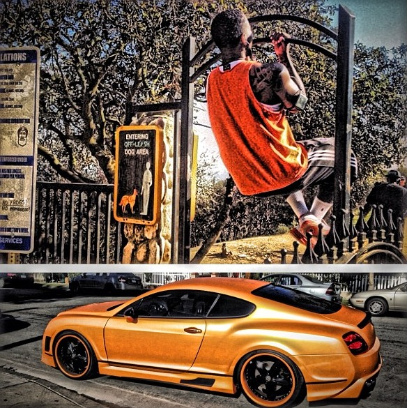 Rapper The Game Tricks Out Bentley Coupe