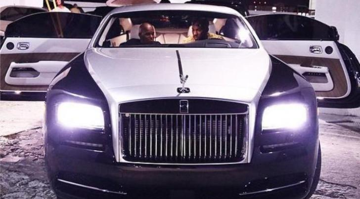 Rapper Young Jeezy S Rolls Royce Wraith Comes With The Celestial