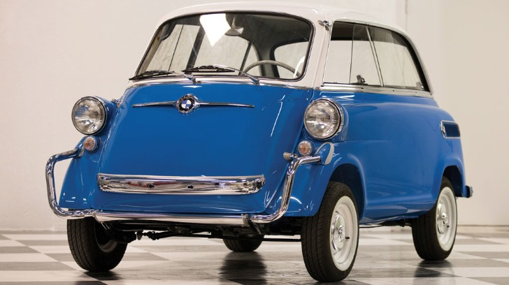 Rare 1958 BMW 600 Auctioned for $55,000 at Amelia - autoevolution