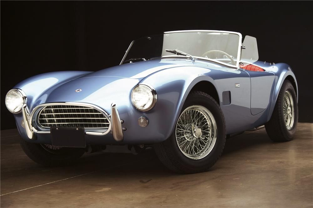 Rare 1965 Shelby Cobra To Be Auctioned - autoevolution