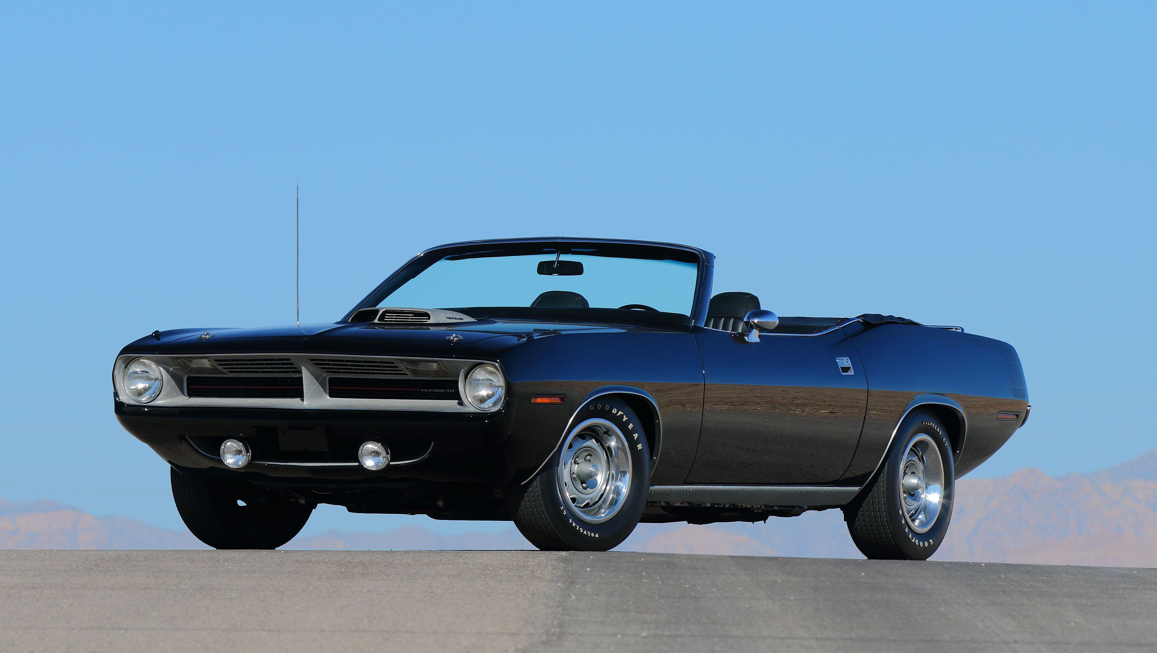 Rare 1970 Plymouth Hemi Cuda Convertible Going Under the Hammer ...
