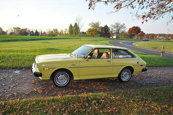 Rare 1976 Toyota Corolla Liftback Deluxe For Sale In