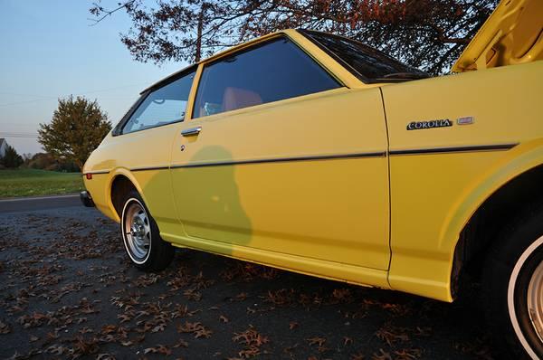 Rare 1976 Toyota Corolla Liftback Deluxe for Sale in ...