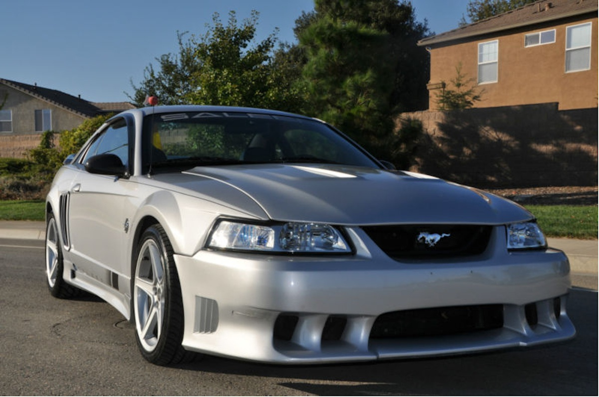 rare 1999 saleen mustang s351 up for auction on ebay autoevolution. Black Bedroom Furniture Sets. Home Design Ideas