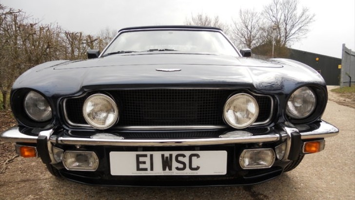 Rare Aston Martin V8 Volante for Sale [Photo Gallery]