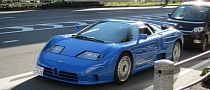 Rare Bugatti EB110 Spotted in Japan